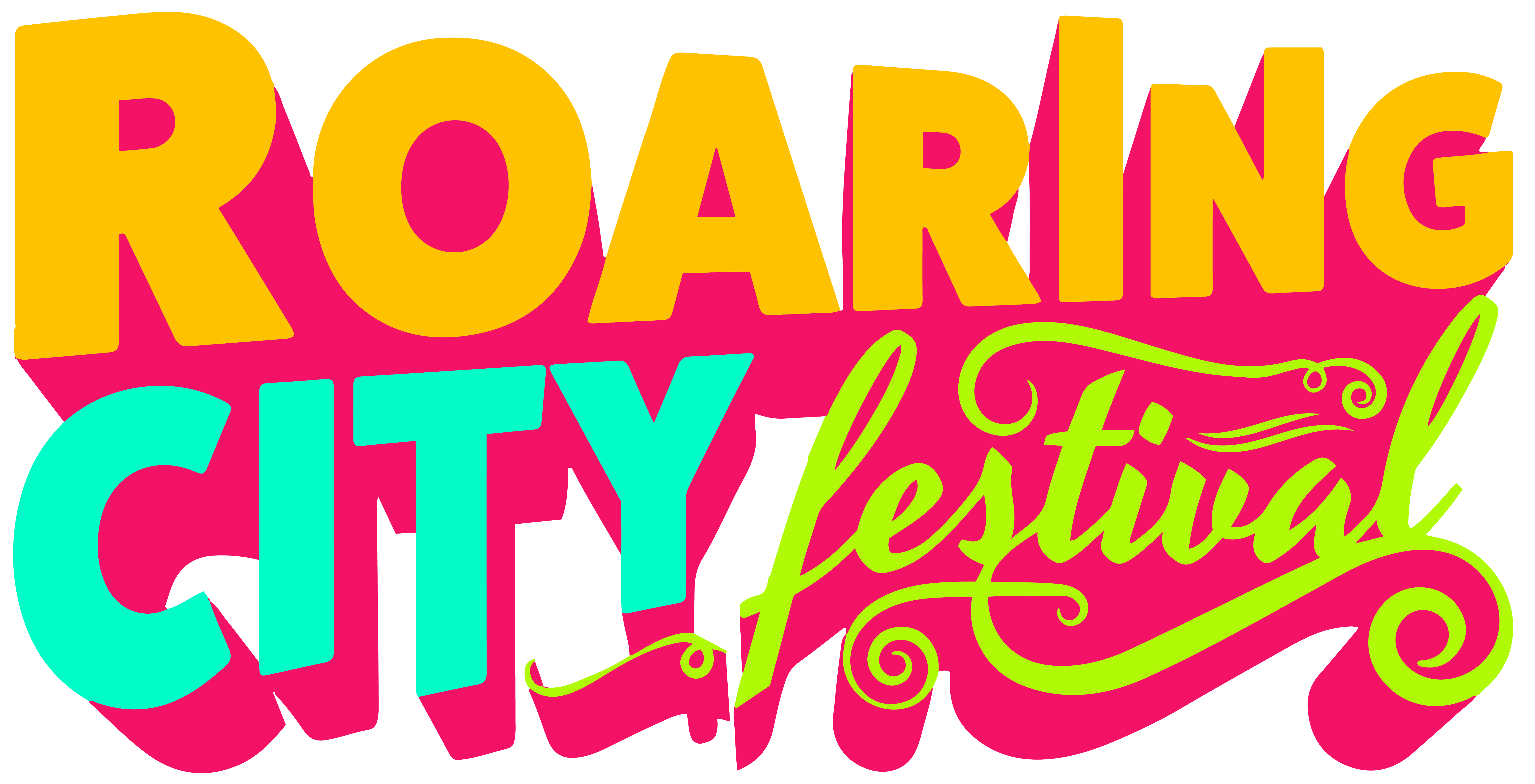 Roaring City Logo – Full 3D-01